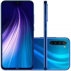 Smartphone Xiaomi Redmi Note 8 64GB Versão Global Desbloqueado Azul R$ 987