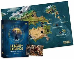 AMAZON | League of Legends: Reinos de Runeterra + Mapa e Skin Card