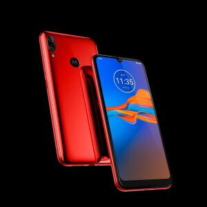 Moto e6 Plus - 32 GB - Vermelho Metálico R$ 594