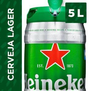 3 Cerveja Heineken Premium Pilsen Lager 5L
