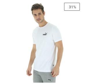 Camiseta Puma Essentials Small Logo - Masculina