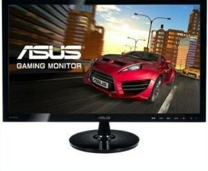 Monitor Gamer Asus LED 24´ Widescreen, Full HD, HDMI/VGA/DVI, 1ms - VS248HR