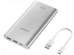 Carregador Portátil/Power Bank Samsung 10000mAh - Fast Charge