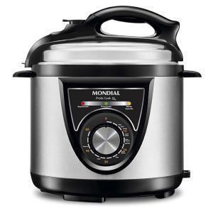 Panela de Pressão Mondial PE 34 Pratic Cook 5L - R$206