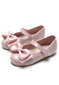[APP] Sapatilha Pimpolho Menina Laço Rosa