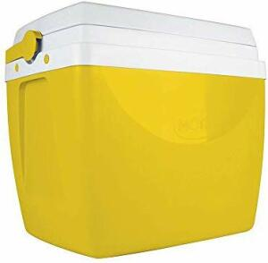 Caixa Térmica 34 Litros Mor Amarela - R$62