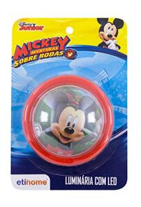 (Prime) Luminária 10 Cm Mickey Etihome Luminária 10 Cm Mickey Multicor