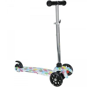 Patinete 3 Rodas Spin Roller com Luzes de Led - Infantil R$204