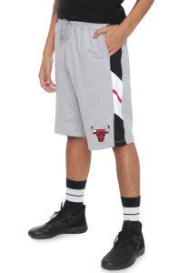 Bermuda NBA Reta Chicago Bulls Cinza R$70