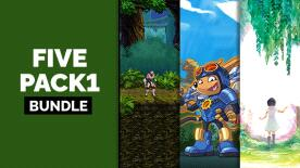 R$11 a R$33 - Five Pack Games para Steam