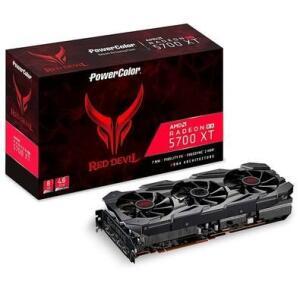 Placa de Vídeo PowerColor AMD Radeon Red Devil RX5700 XT, 8GB, GDDR6 - AXRX 5700XT 8GBD6-3DHE/OC