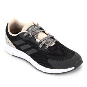 Tênis Adidas Sooraj Feminino - Preto e Chumbo R$170