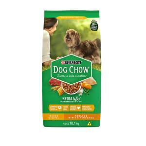 Nestlé Purina Dog Chow Ração Seca Para Cães Adultos Raças Pequenas 10,1Kg