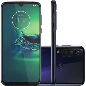 Smartphone Moto G8 Plus - Azul Safira | R$1.174