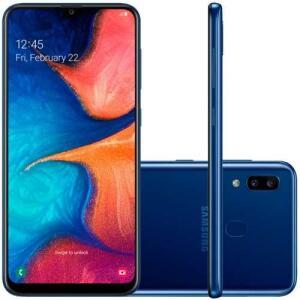 Smartphone Samsung Galaxy A20 32gb 6.4 3gb Camera 13mp 5mp | R$899