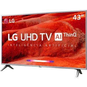 "[AME R$1.359,15] Smart TV LED 43"" LG 43UM7510PSB Ultra HD 4K | R$1.359"