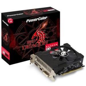 Placa de Vídeo PowerColor Red Dragon AMD Radeon RX 550 OC, 4GB, GDDR5 - AXRX 550
