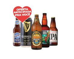 [Cliente Mais] 50% em todas as Cervejas Especiais - Frete Grátis para Retirada