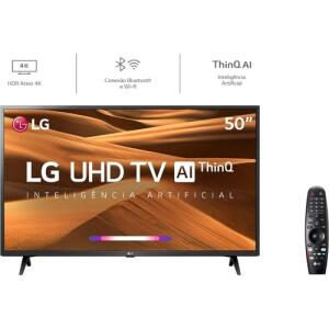 [AME R$1657/CC Ame ] Smart TV Led 50'' LG 50UM7360 Ultra HD 4K R$ 1949