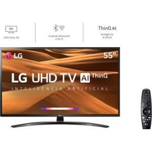[AME R$ 2008 /CC Ame] Smart TV LED 55'' LG 55UM7470 Ultra HD 4K R$ 2232