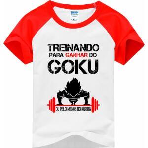 Camiseta Infantil do Goku - R$24