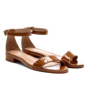Sandália Shoestock Flat Tira Naked Feminina - Castanha | R$38
