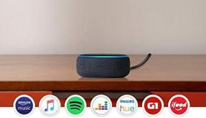 (Frete grátis) Amazon Echo Dot (3ª Geração): Smart Speaker com Alexa (Sem juros)