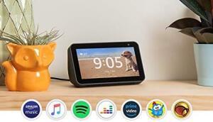 """(Frete grátis) Amazon Echo Show 5 - Smart Speaker com tela de 5,5"""" e Alexa (Sem juros)"""