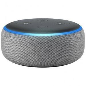 Amazon Echo Dot Alexa 3ª Geração Cinza