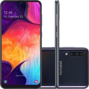 [AME R$1193 /CC Shop] Smartphone Samsung Galaxy A50 Android 9.0 R$ 1356