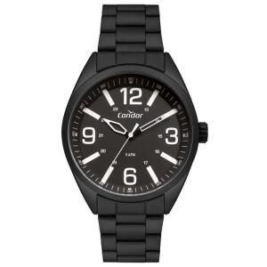 Relógio Condor Masculino Militar Preto Analógico CO2035MUA/4P