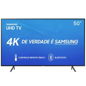 Smart TV LED 50'' UHD 4K Samsung 50RU7100   R$1.804