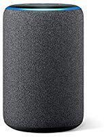 Amazon Echo (3ª geração) - Smart Speaker com Alexa - R$384