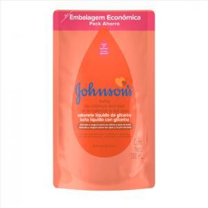 Sabonete Líquido Infantil 180Ml Cabeça aos Pés Refil Unit, Johnson Johnson