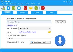 Allavsoft Downloader - Software Gratuito