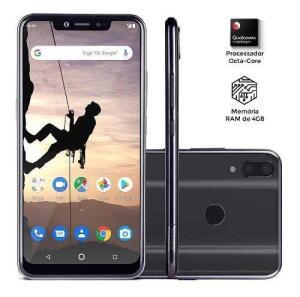 Smartphone Multilaser MS80X 4GB 64GB | R$679