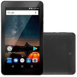 "Tablet Multilaser M7S Plus 7"" 8GB + RAM 1GB   R$198"