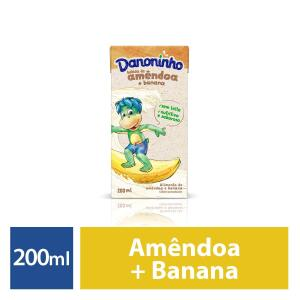 (PRIME) Bebida vegetal amêndoa e banana Danoninho 200ml R$ 2,99