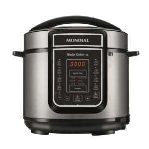 Panela de Pressão Mondial Digital Master Cooker PE-38 5L – R$252