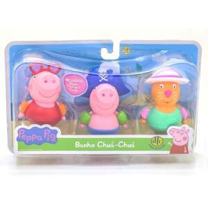 Brinquedo de Banho - Peppa Pig - Chua Chua - DTC