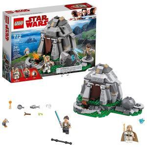 [Prime] Star Wars Treinamento Na Ilha Ahch-to Lego Sem Cor Especificada R$ 125