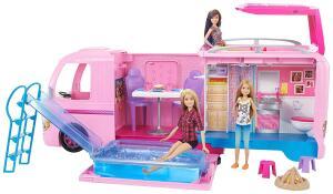 [Prime] Trailer Dos Sonhos Barbie, Mattel, Rosa R$ 420