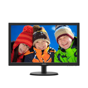 "Monitor Philips 21,5"" LED Full HD HDMI Widescreen 223V5LHSB2 | R$399"