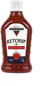[PRIME] Ketchup Tradicional Hemmer Bisnaga 1kg