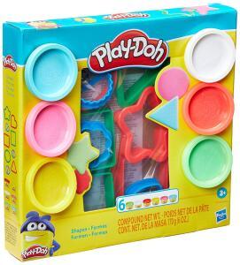[Prime] Conjunto Massinha, Play-Doh, E8534 - Hasbro, Formas Variadas R$ 28