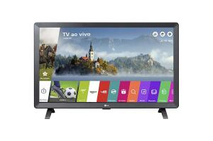 "Monitor Smart TV LED 24"" LG 24TL520S HD   R$590"