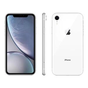 "iPhone XR Apple Branco 64GB, Tela Retina LCD de 6,1"" R$ 2375"