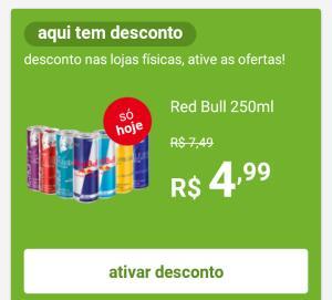 (Pegue na loja-APP) Red Bull 250 ml