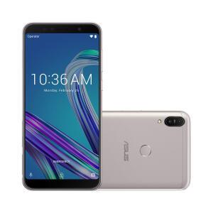 "Smartphone Asus Zenfone M1 Max Pro 64GB Prata 4G Tela 6.0"" Câmera 13MP+5MP"