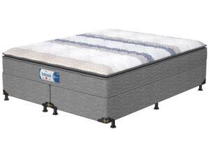 Cama Box Queen Size Box + Colchão Probel - Mola 28cm de Alt. Turquia R4 950